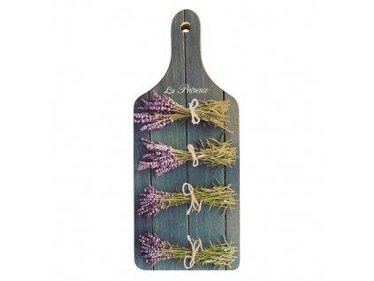 Bohemia Gifts Dekorační kuchyňské prkénko - levandule La Provence