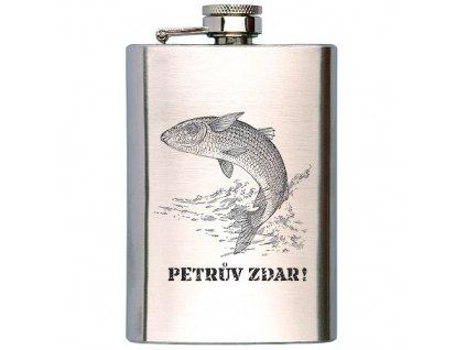 Bohemia Gifts Placatka na alkohol pro rybáře 100 ml - Petrův zdar