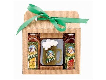 Bohemia Gifts Pivrnec sada pivní kosmetiky – gel, mýdlo a šampon