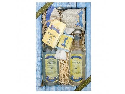 Bohemia Natur Sada Mrtvé moře premium – gel 200ml, šampon 200ml, mýdlo 30g a sůl 150g