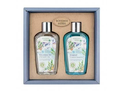 Bohemia Herbs Dárková sada kosmetiky Mrtvé moře - gel a šampon