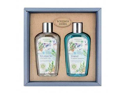 Bohemia Herbs Kosmetická sada - gel 250ml a šampon 250ml – Mrtvé moře
