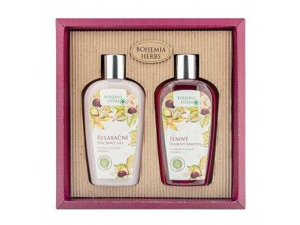 Bohemia Herbs Kosmetická sada koňský kaštan - sprchový gel a šampon
