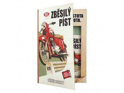 Bohemia Gifts Dárková kosmetická sada – kniha pro motorkáře