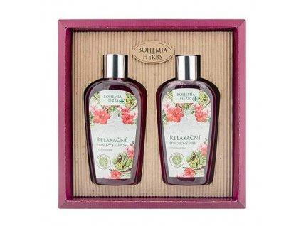 Bohemia Herbs Kosmetická sada sprchový gel a šampon – hadí jed