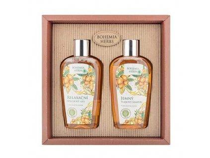 Bohemia Gifts Kosmetická sada arganový olej - sprchový gel a šampon