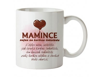 Bohemia Gifts Keramický hrnek 350 ml s potiskem mamince
