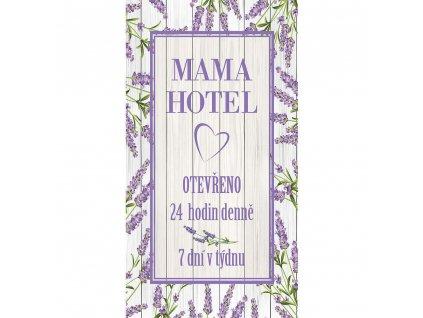 Dekorační obraz 20 x 40 cm - Mama Hotel