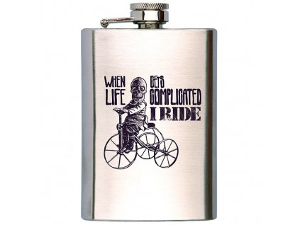 Bohemia Gifts Placatka na alkohol 200 ml - I ride