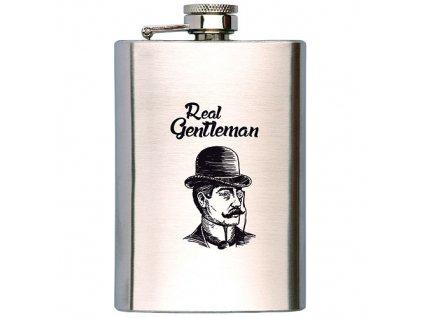 Bohemia Gifts Placatka na alkohol 200 ml - gentleman