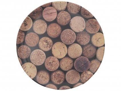 Creative Tops - Melaminový tác Cork - Průměr je 36 cm.