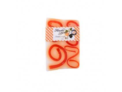 Křišťálové mýdlo 150g meruňka