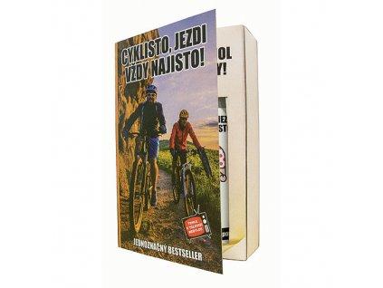 Bohemia Gifts Dárková kosmetická sada - kniha pro cyklistu