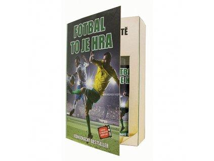 Bohemia Gifts Dárková kosmetická sada - kniha pro fotbalistu
