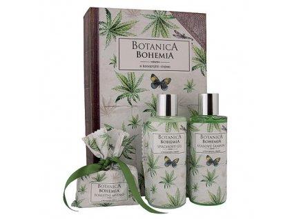 Bohemia Gifts Botanica Bohemia kosmetický balíček - konopí