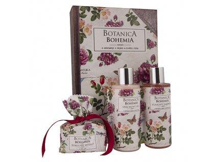 Bohemia Gifts Botanica Bohemia kosmetická sada - šípek a růže