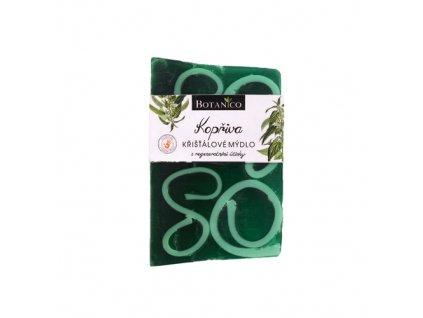 Jemné kopřivové křišťálové rostlinné mýdlo s glycerínem 100g
