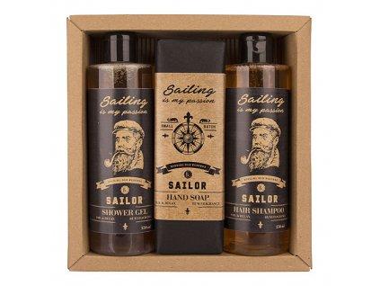 Bohemia Gifts Bohemia Gifts kosmetická sada Sailor - gel, mýdlo a šampon
