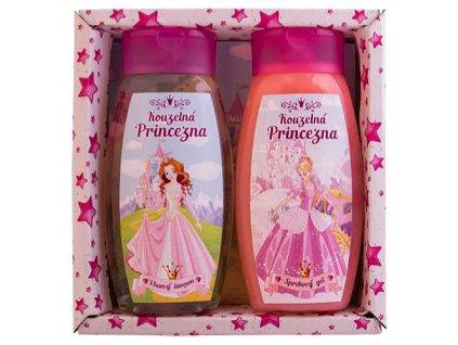 Bohemia Gifts Dětská kosmetická sada Kouzelná princezna – gel a šampon