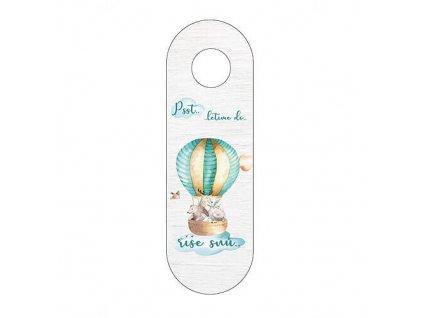 Závěs na kliku pro děti - balón