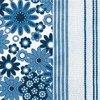Dezertní třívrstvé ubrousky Blue mood, 20 ks