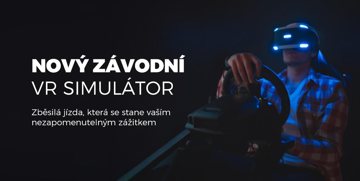 Nový závodní VR simulátor. Zběsilá jízda, která se stane vaším nezapomenutelným zážitkem