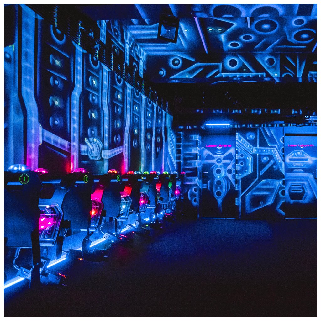 laser arena 4 hraci