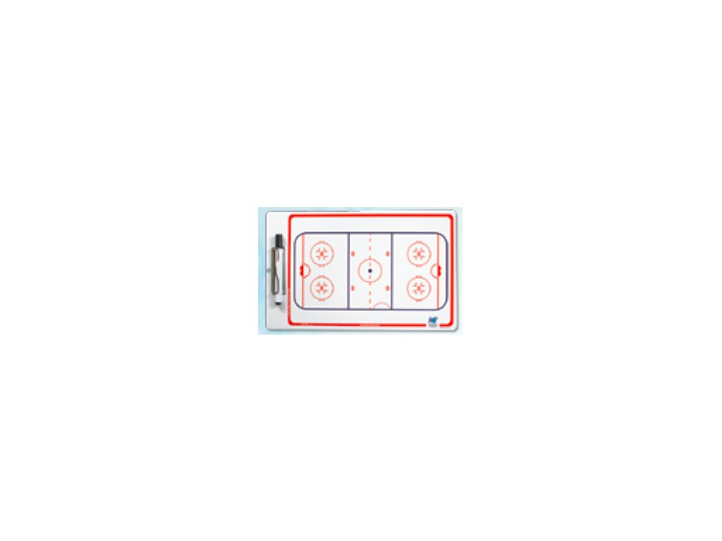 Trenérská tabule Blue Sport De luxe Clipboard hokej 25cm x 4