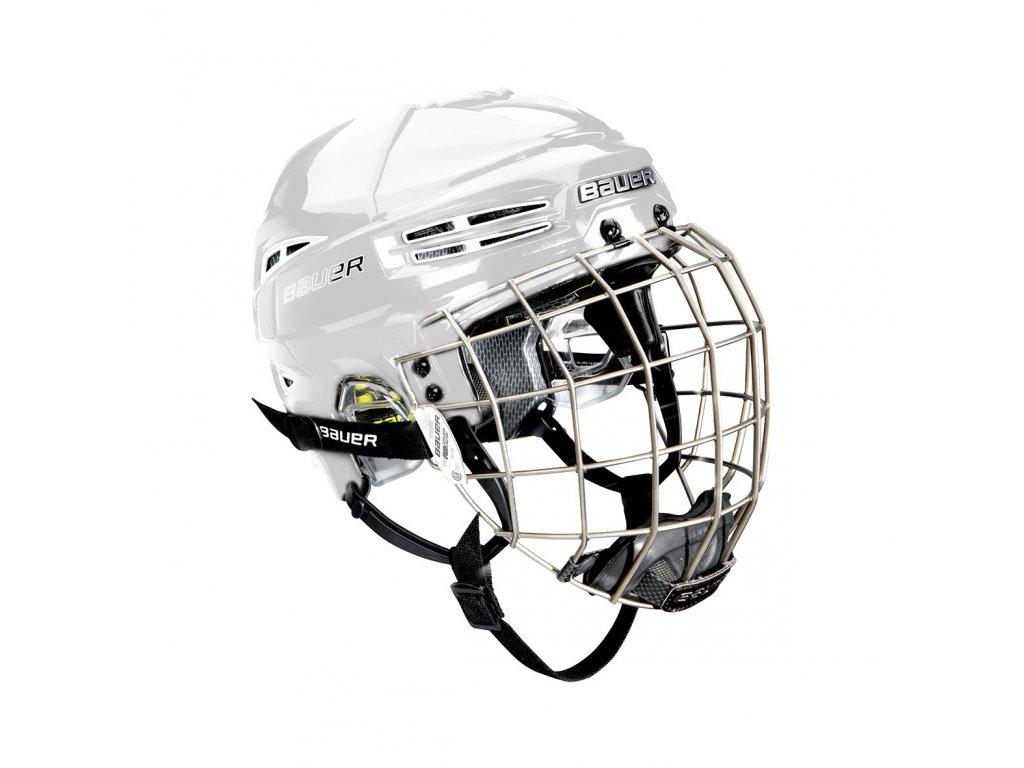 Hokejová helma BAUER RE-AKT 100 Combo - WHT