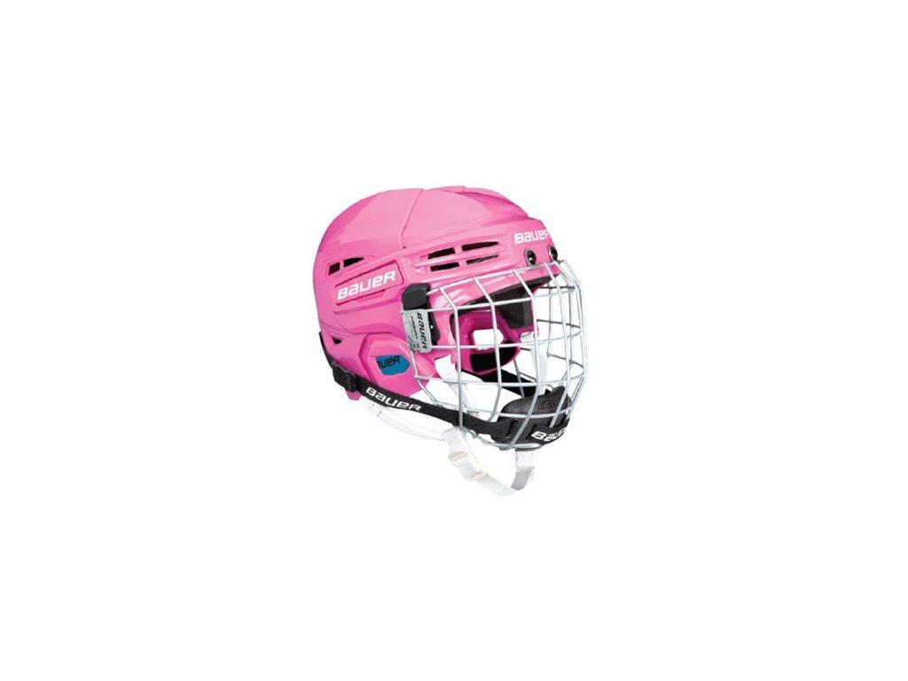 Hokejová helma BAUER Prodigy Yth Combo-BLK,NAV,BLU,WHT