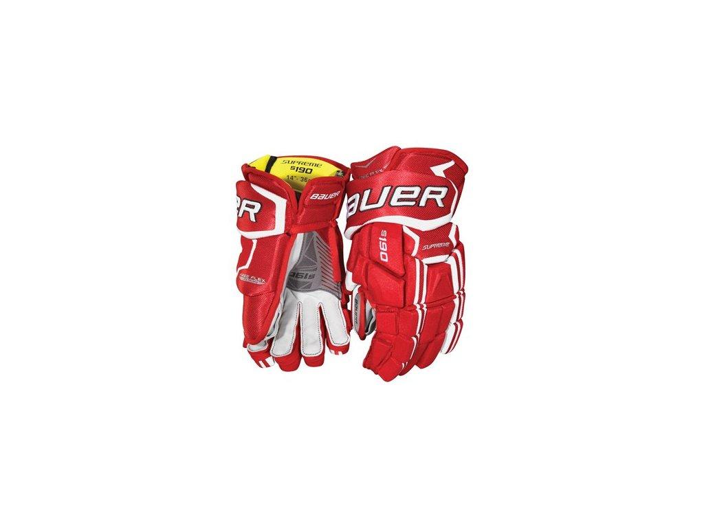 Hokejové rukavice BAUER SUPREME S190 S-17 SR