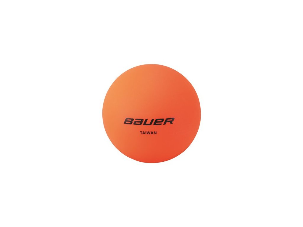 Míček BAUER Warm Orange - 1 ks