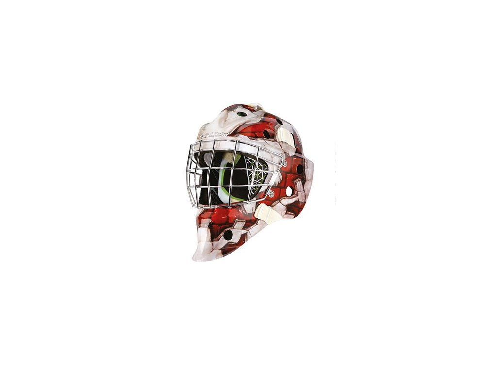 Maska G.BAUER NME4 S-17 SR - WALL-RED