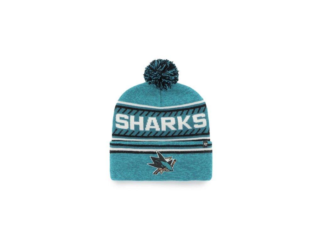 NHL San Jose Sharks Ice Cap '47 CUFF KNIT