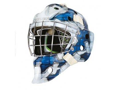 Maska G.BAUER NME4 S-17 SR - WALL-BLUE