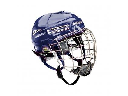 Hokejová helma BAUER RE-AKT 100 Combo - BLU