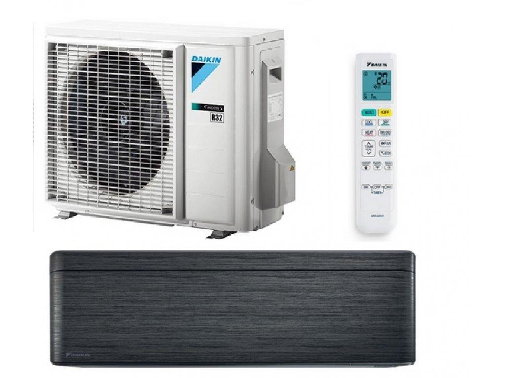 klimatizace černá