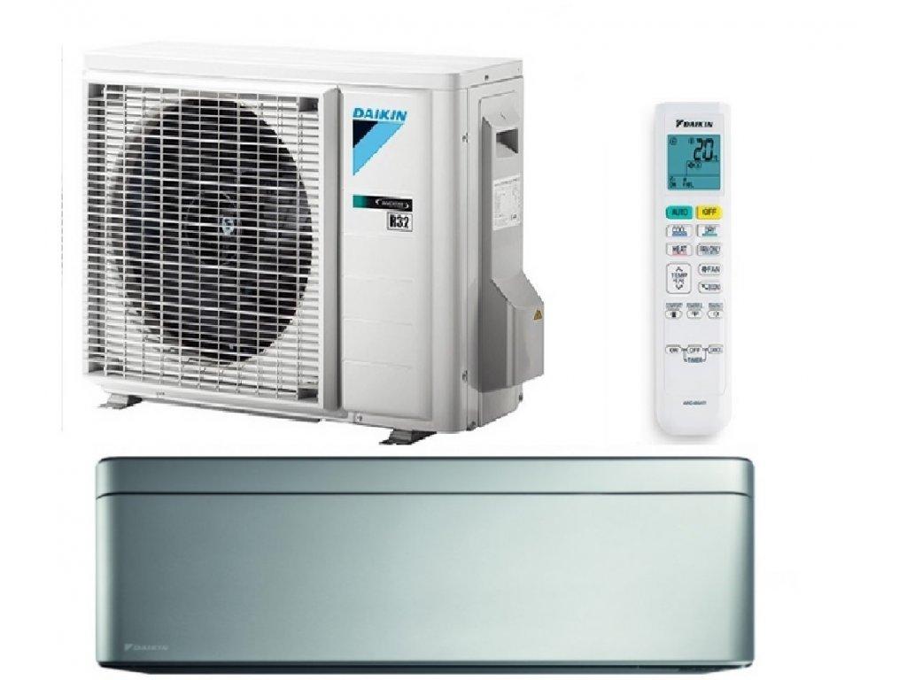 Klimatizace DAIKIN Stylish Silver 2 kW R32 včetně montáže