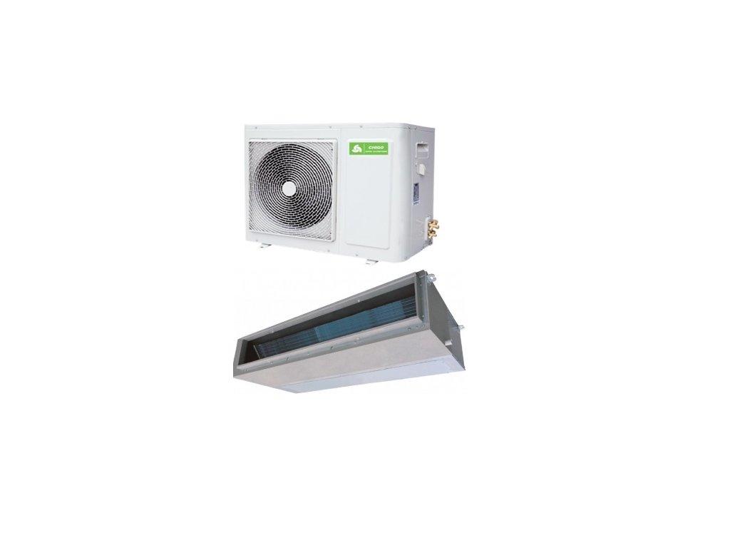 Kanálová Klimatizace Chigo 1+1 10,5kW R32 včetně montáže