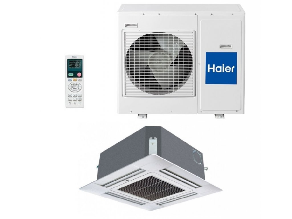 Klimatizace Haier 4-cestná kazeta 2,6 kW