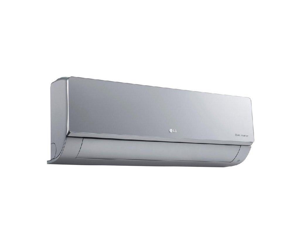 stříbrná klimatizace