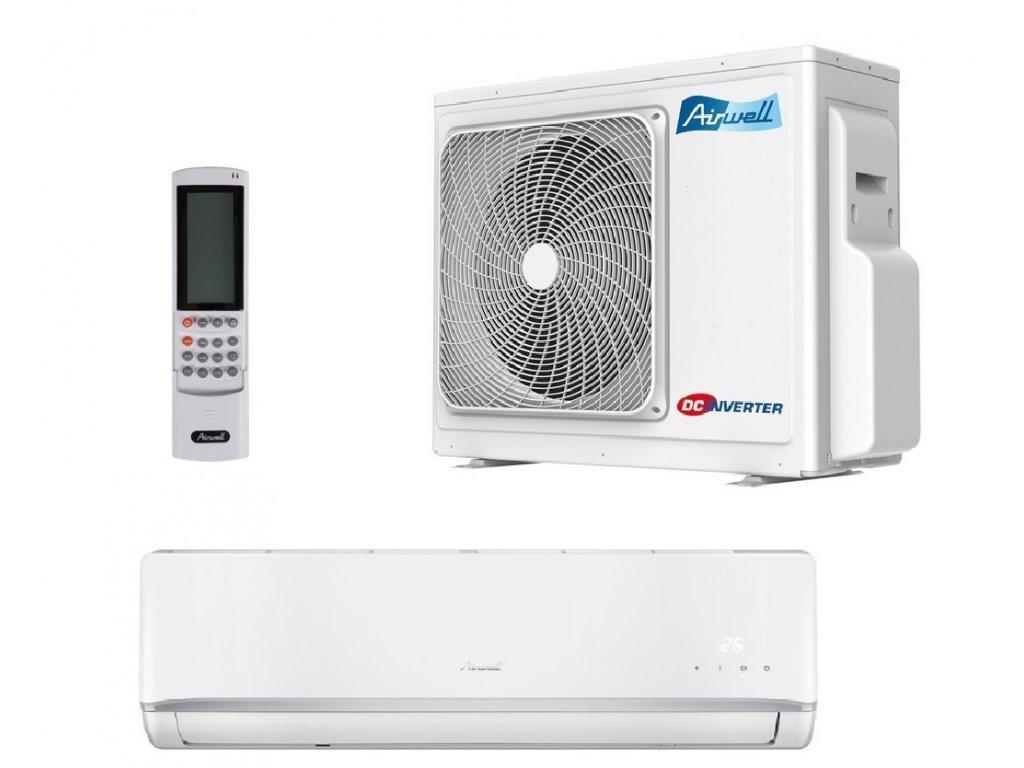 Klimatizace Airwell HKD 012 3,5 kW R32 s montáží