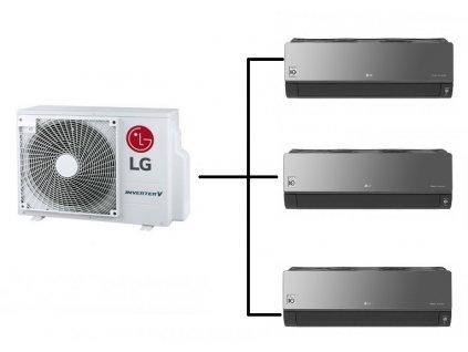 LG 1+3 STANDARD PLUS black black black