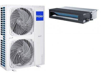 Kanálová Klimatizace Haier AD 1+1 12kW R32 včetně montáže