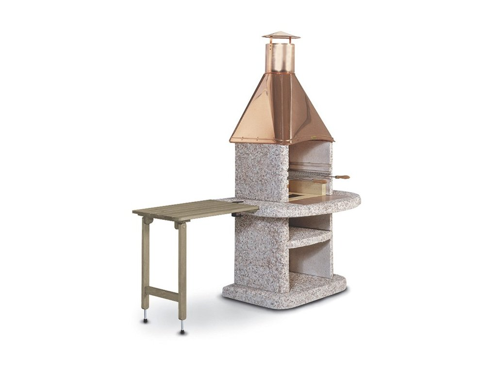 Stolek odkládací dřevěný Komfort šedý 70 x 45 cm