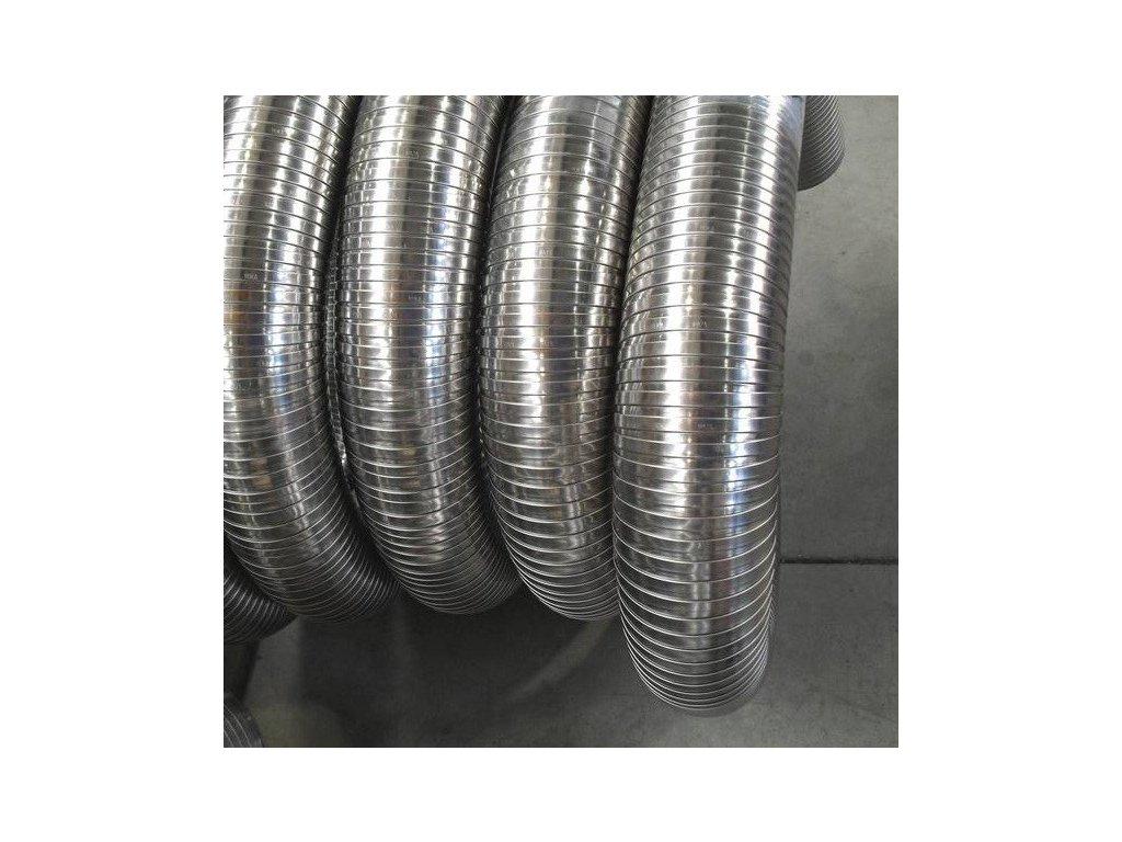 Flexibilní komínová vložka nerez (tl.0,3mm) Ø 160 mm - 1m;Flexibilní komínová vložka nerez (tl.0,3mm) Ø 160 mm - 1m;Flexibilní komínová vložka nerez (tl.0,3mm) Ø 160 mm - 1m