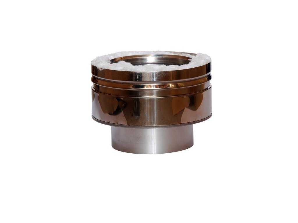 Spojka kouřovodu (Ø130 mm, tl. 0,8 mm)