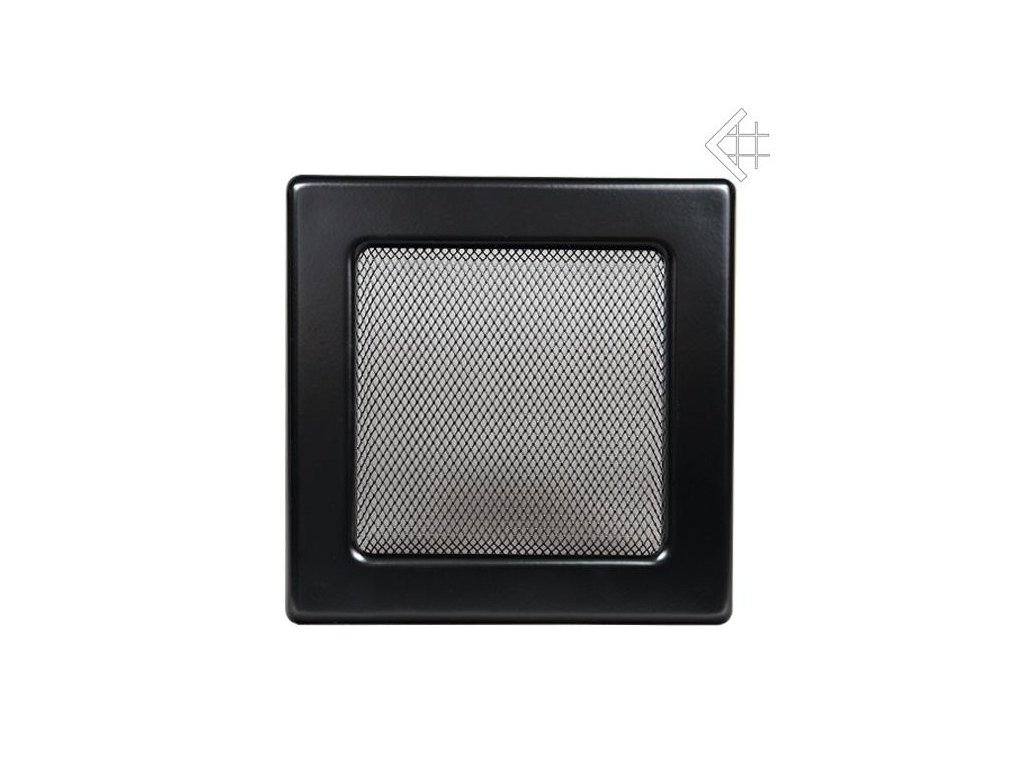 Kratki mřižka černá (lakovana) 11x11 cm