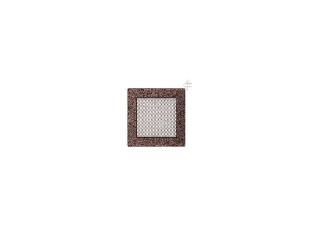Kratki mřižka měděná (lakovaná) 17x37 cm