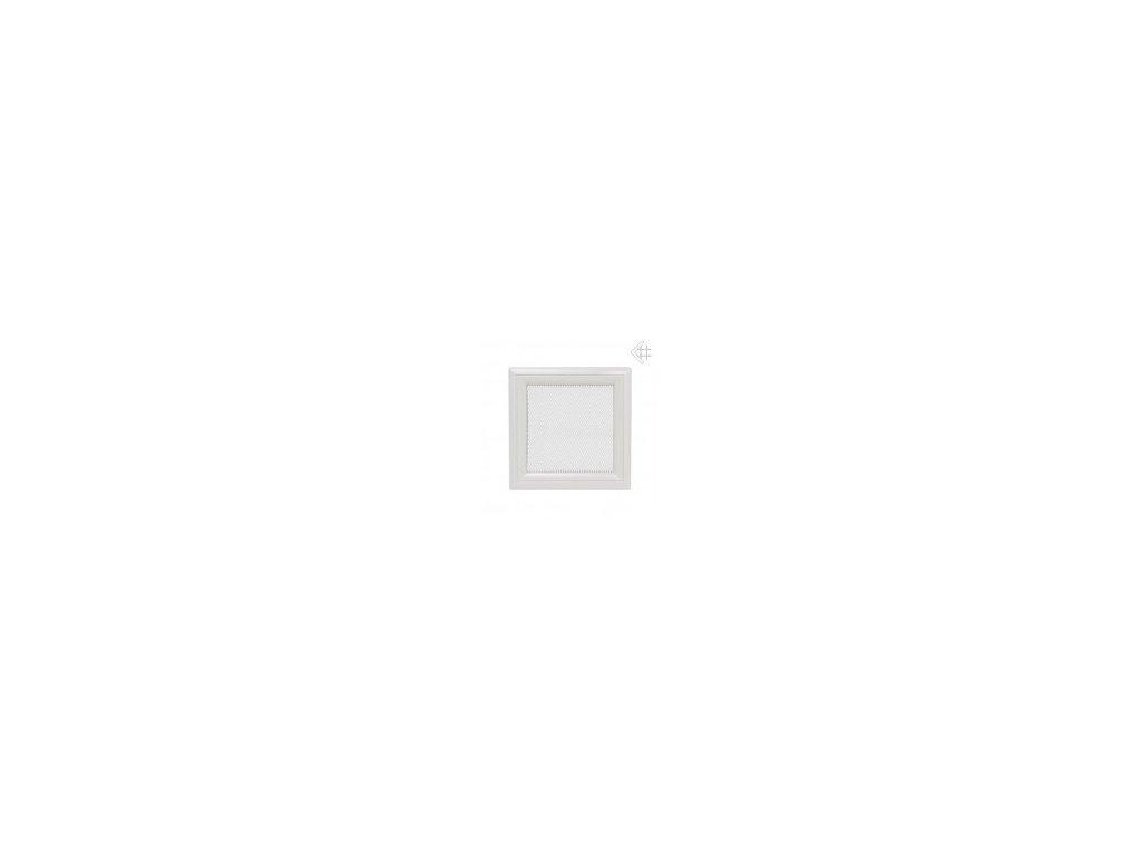 Kratki mřižka oskar bílá (lakovaná) 11x32 cm